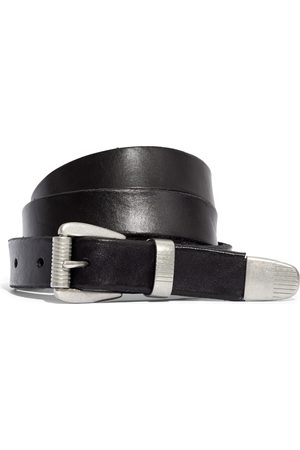 Madewell Women's Leather Three-Piece Belt