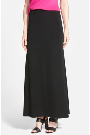 Ming Wang Women's A-Line Knit Maxi Skirt