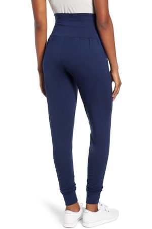 Angel Maternity Women's Tapered Maternity Lounge Pants