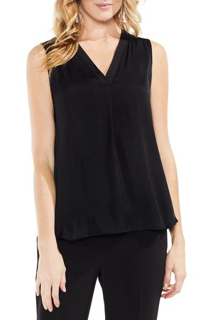 Vince Camuto Women's Rumpled Satin Blouse