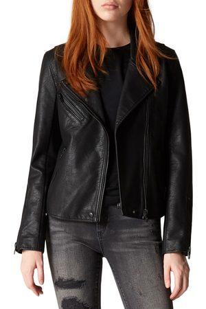 BLANK NYC Women's Faux Leather Moto Jacket