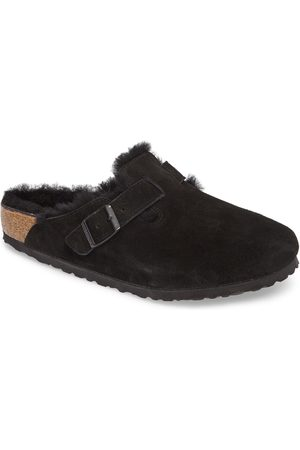 Birkenstock Men's Boston Slip-On With Genuine Shearling Lining