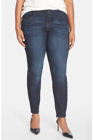 Wit & Wisdom Plus Size Women's 'Super Smooth' Stretch Skinny Jeans