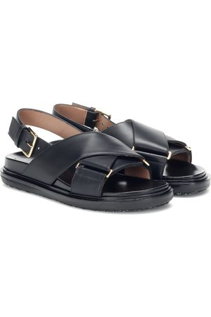Marni Women Sandals - Leather sandals