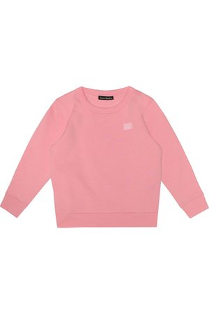 Acne Mini Fairview Face cotton sweatshirt