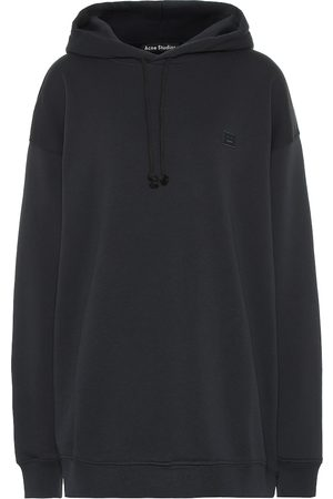 Acne Face oversized cotton hoodie