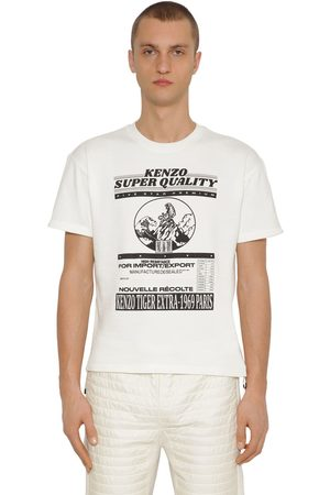 Kenzo Graphic Rice Bag Printed Jersey T-shirt