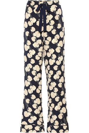 Diane von Furstenberg Veronica silk-blend cady pants