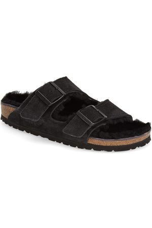 Birkenstock Women's 'Arizona' Genuine Shearling Lined Sandal