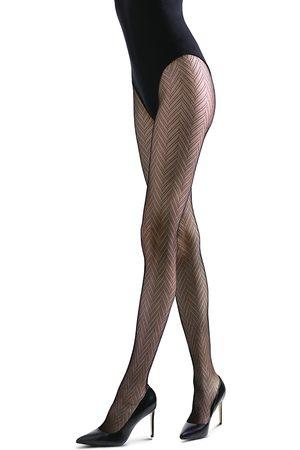 Natori Women Stockings - Herringbone Net Tights