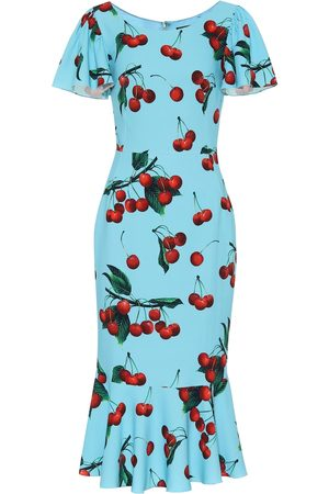 Dolce & Gabbana Exclusive to Mytheresa – cherry printed midi dress