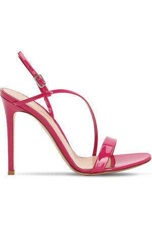 Gianvito Rossi 105mm Manhattan Patent Leather Sandals