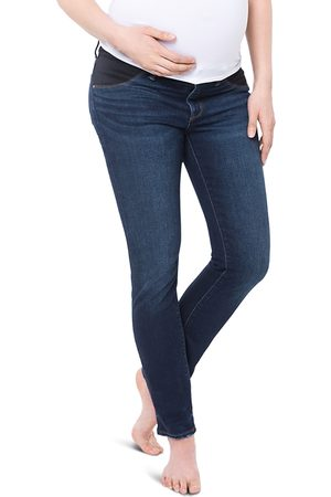 Nom Maternity Chelsea Under-the-Belly Jeans in Dark Wash