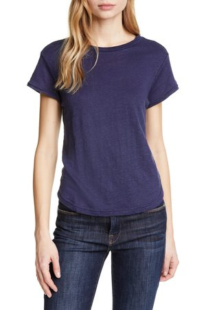 Frame Women T-shirts - Women's Classic Crew Linen Tee