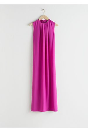 & OTHER STORIES Women Midi Dresses - Open Tie Back Midi Dress