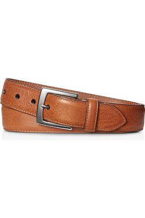 SHINOLA Men Belts - Signature Leather Bedrock Belt