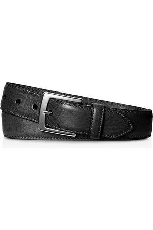 SHINOLA Signature Leather Bedrock Belt