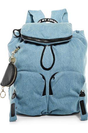 See by Chloé Women Purses - Joy Rider Medium Denim Backpack