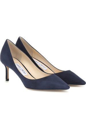 Jimmy choo Women Heels - Romy 60 suede pumps