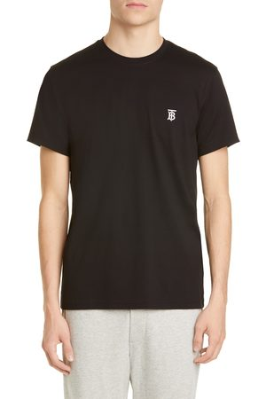 Burberry Men's Parker Embroidered Logo T-Shirt
