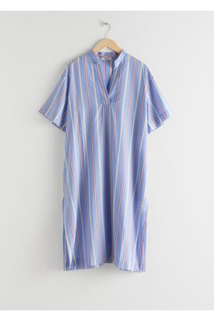 & OTHER STORIES Women Casual Dresses - Striped Lyocell Shirt Dress