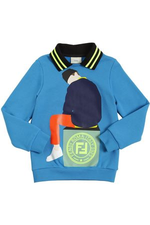 Fendi Printed Cotton Sweatshirt