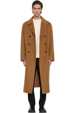 Jil Sander Oversized Double Breast Cashmere Coat