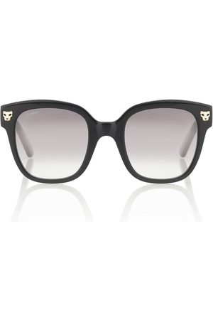 CARTIER EYEWEAR Panthère de Cartier square sunglasses