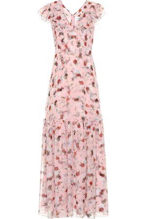 Erdem Exclusive to Mytheresa – Franceline floral silk-voile gown