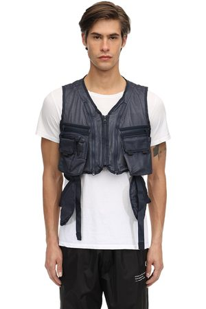 GUERRILLA GROUP Mesh & Nylon Vest