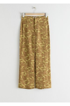 & OTHER STORIES High Rise Kick Flare Trousers