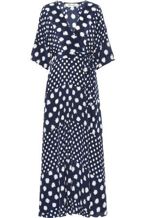 Diane von Furstenberg Eloise silk crêpe de chine maxi dress
