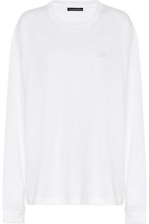 Acne Studios Fairview Face cotton sweatshirt