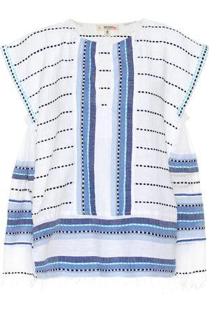 Lemlem Welela cotton-blend blouse