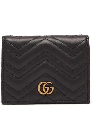 Gucci GG Marmont Quilted-leather Wallet - Womens