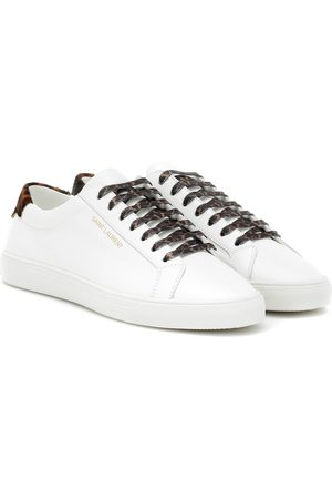 Saint Laurent Women Sneakers - Andy leather sneakers