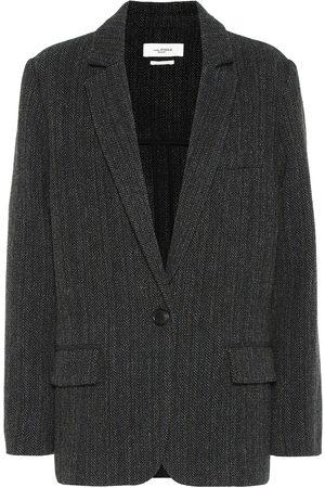 Isabel Marant, Étoile Charly herringbone wool jacket