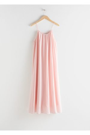 & OTHER STORIES Gathered A-Line Maxi Dress