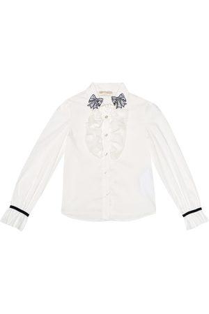 MONNALISA Cotton blend shirt