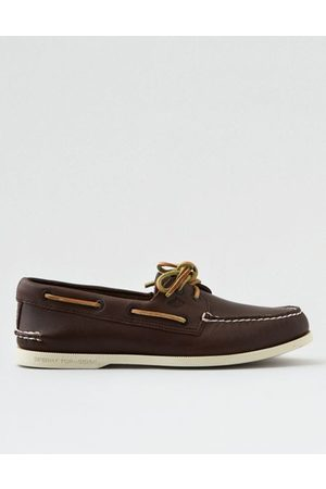 American Eagle Outfitters Sperry Sahara Leather Boat Shoe Men's 8