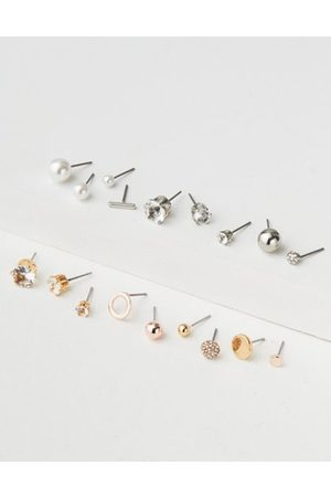 American Eagle Outfitters AE Pearl & Stud Earring 18-Pack Women's One Size