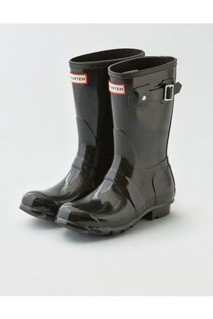 American Eagle Outfitters Hunter Original Short Gloss Rain Boot Women's 6