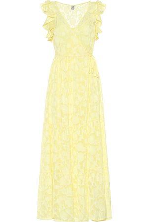 Baum und Pferdgarten Aiza silk-blend maxi dress