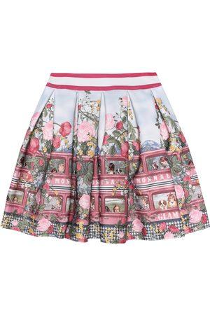 MONNALISA Floral-printed skirt