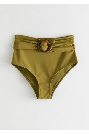 & OTHER STORIES Belted High Waisted Bikini Bottoms