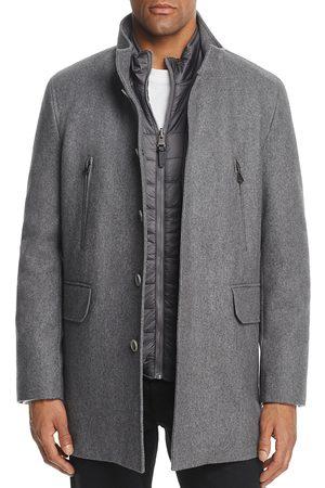 Cole Haan Men Coats - Melton Three-In-One Topper Coat