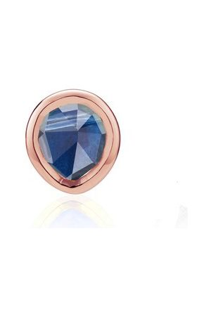 Monica Vinader Rose Gold Siren Mini Stud Single Earring Kyanite