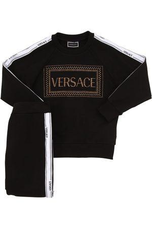 VERSACE Embellished Sweatshirt & Sweatpants