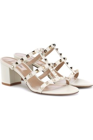 VALENTINO GARAVANI Rockstud Spike leather sandals