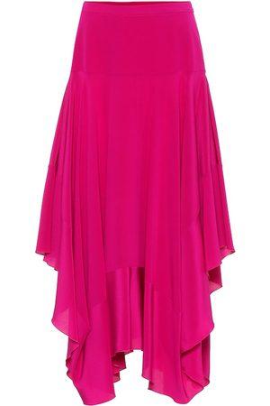 Stella McCartney Poppy silk crêpe de chine skirt